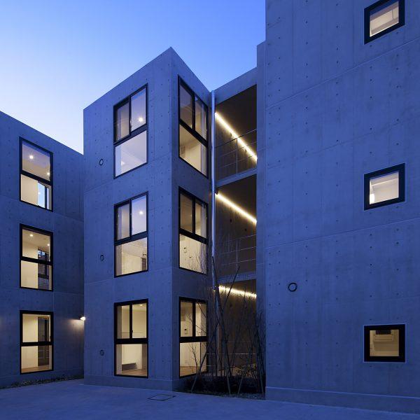 新建築に「NKG日吉寮」が掲載されました。