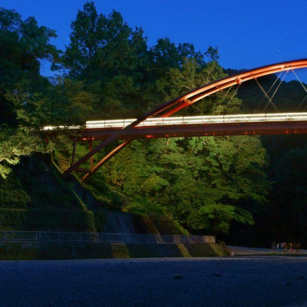 割岩橋ライトアップ リニューアルプロジェクト